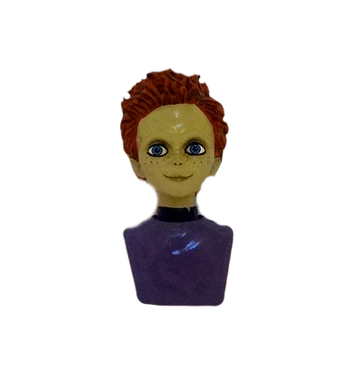 Holiday Horrors Seed of Chucky Glen Bust Ornament