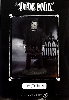 The Addams Family Hot Properties Village Lurch the Butler Statue