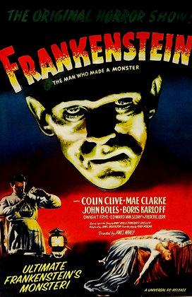 Universal Monsters  Ultimate Frankenstein's Monster Action Figure Color Version