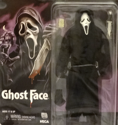 Neca Ghost Face Clothed Action Figure