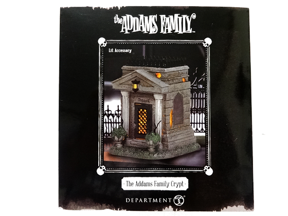 The Addams Family Hot Properties Village Addams Family Crypt Statue
