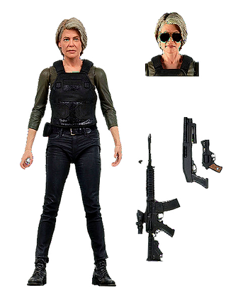 Neca Terminator Dark Fate Sarah Connor 7 inch Action Figure