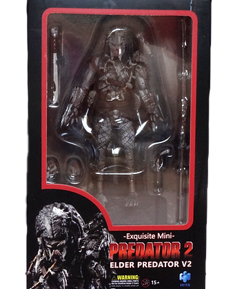 Hiya Toys Previews Exclusive Predator 2 Elder Predator Version 2