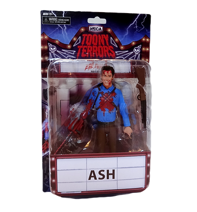 Neca Toony Terrors Bloody Ash Evil Dead 2 Series 5 Action Figure