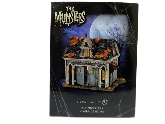 The Munsters Hot Properties Village Carriage House Light-Up Statue