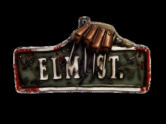 A Nightmare on Elm Street Sign