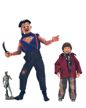 Neca The Goonies Sloth and Chunk 2 Pack Clothed Action Figures