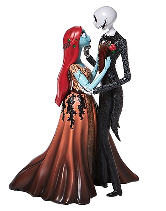 Disney Showcase Nightmare Before Christmas Jack and Sally Couture de Force Statu