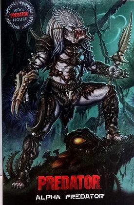 Neca Predator Ultimate Alpha Predator Action Figure  100th Edition