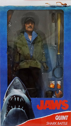 """Neca Jaws Quint 8"""" Clothed Action Figure"""