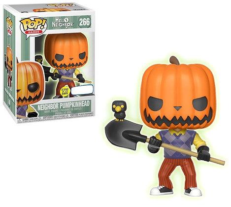 Funko Hello Neighbor PumpkinHead Glow-in-the-Dark Pop Figure