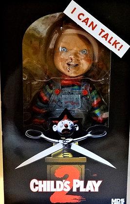 Mega Scale Child's Play 2 Talking Menacing Chucky