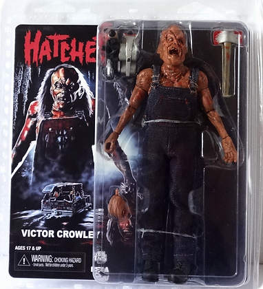 Neca Hatchet Victor Crowley Clothed Action Figure