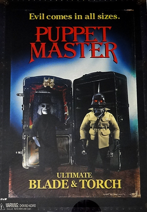 Neca Puppet Master Blade & Torch 2 Pack Action Figure