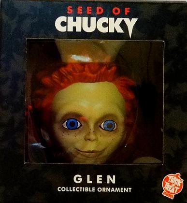 Holiday Horrors Seed of Chucky Glen Head Ornament