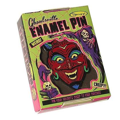 Enamel Pin Fun House Devil