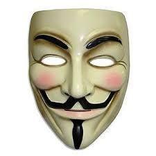 Rubies V for Vendetta Mask