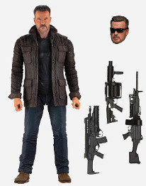 Neca Terminator Dark Fate T-800 7 inch Action Figure