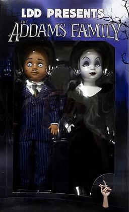 LDD Presents The Addams Family Gomez and Morticia