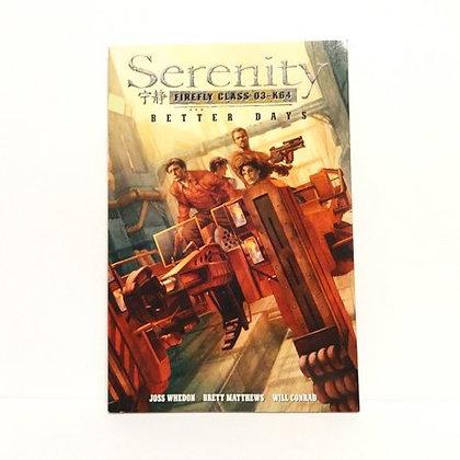 Dark Horse Books Serenity Better Days Volume 2