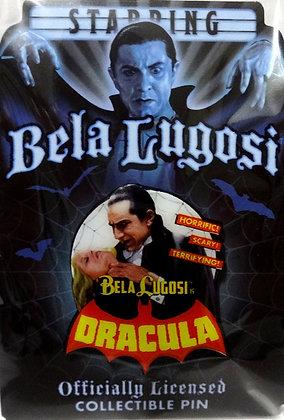 Bela Lugosi Dracula Bites Collectible Pin