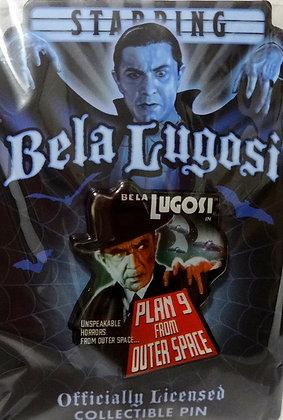 Bela Lugosi Plan 9 Collectible Pin