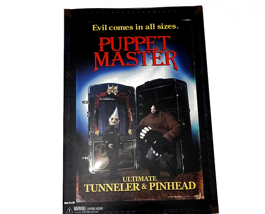 Neca Puppet Master Pinhead & Tunneler 2 Pack Action Figure