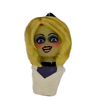 Holiday Horrors Seed of Chucky Glenda Bust Ornament