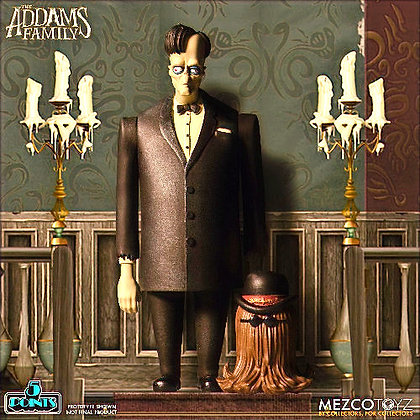 5 Points The Addams Family Lurch and It