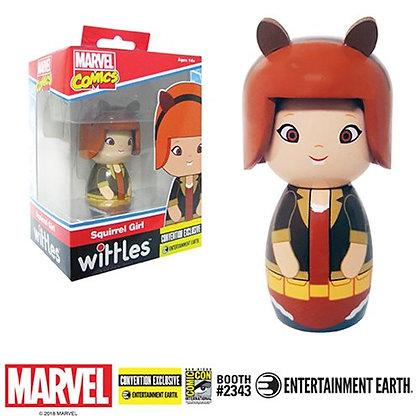 Marvel Squirrel Girl Wittles Wooden Doll