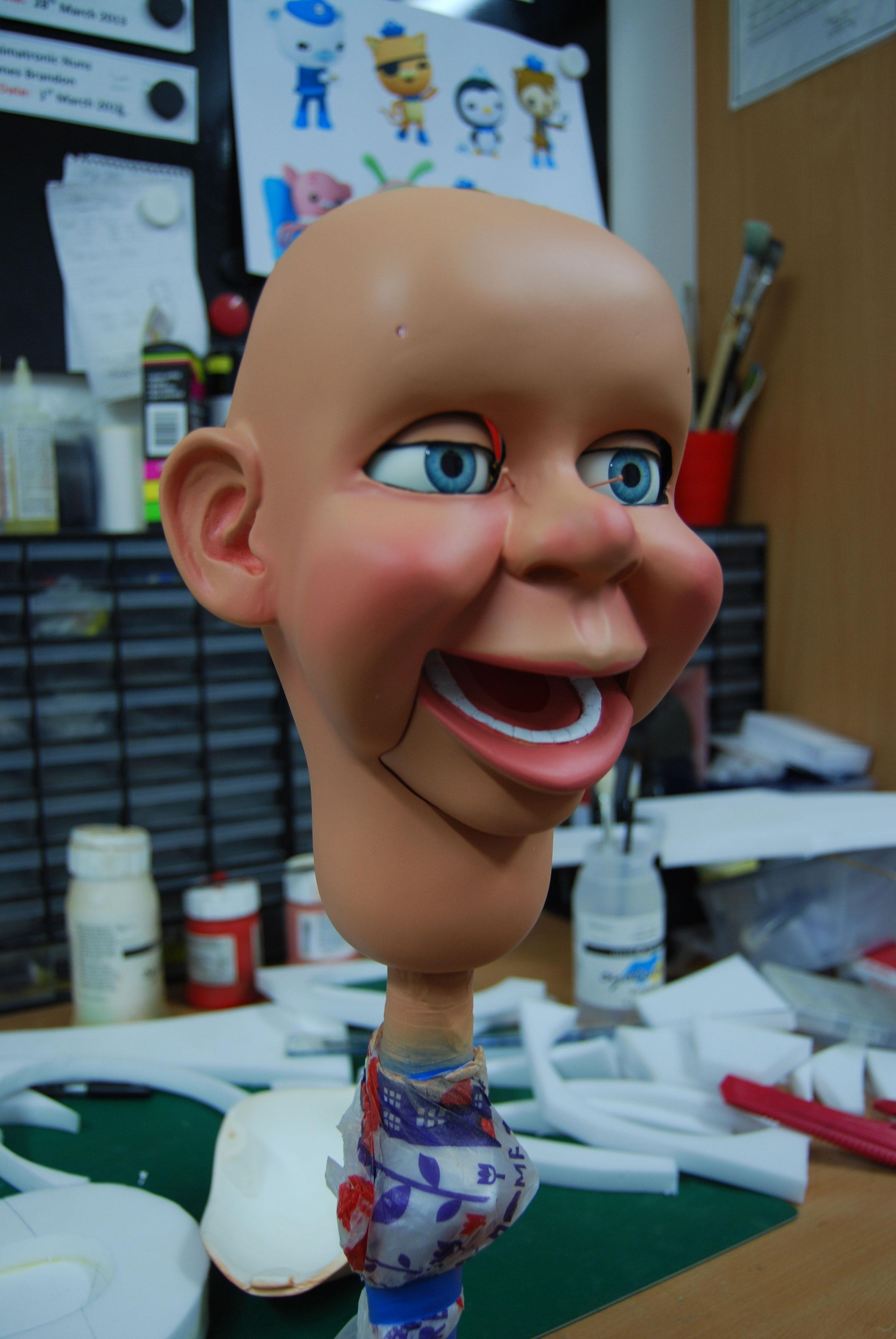 tar puppet head