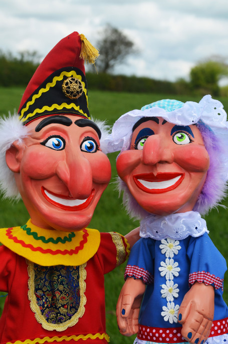 New Punch and Judy Puppets