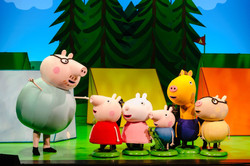 Daddy pig and Peppa