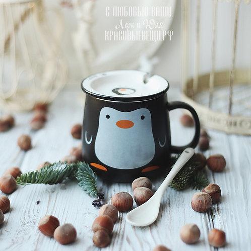 "Кружечка «Penguin. Love cup"""