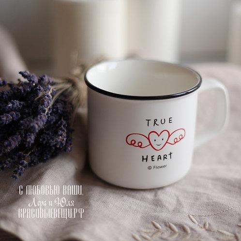 "Кружка ""True heart"", 300 мл."
