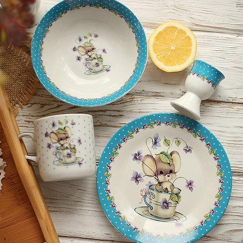 Набор Детской посуды «Мышка»