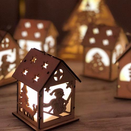 Новогоднее украшение «Домик»