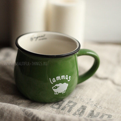 """Кружка «Lammas"""" с небольшим дефектом покрытия"""