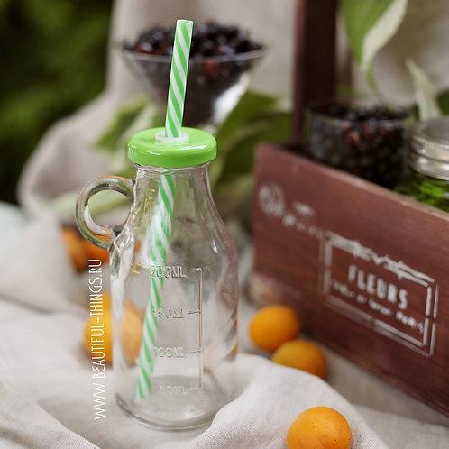 Бутылочка для смузи, Зеленая