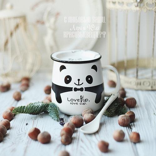 "Кружечка «Panda. Love cup"""