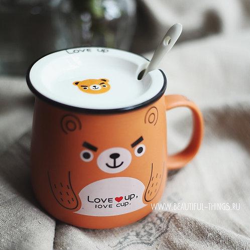 """Кружечка """"Bear. love cup"""""""