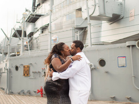 Celebrating 25 years of Love on the USS Wisconsin