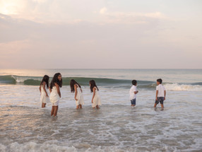 Family Fun at Corolla Beach