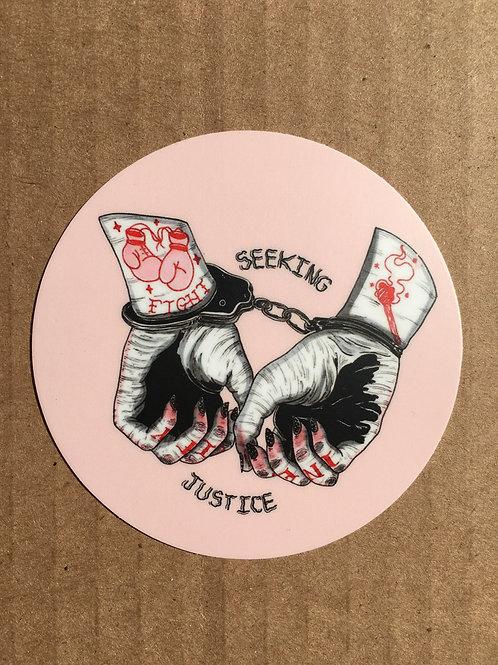 Innocent Hands Stickers