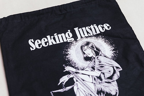 Lady Justice Draw-String Bag