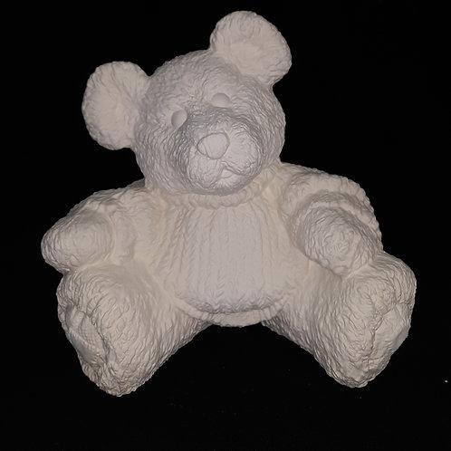 Fluffy Bear w/Sweater