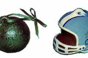 Football / Bowling Ornament