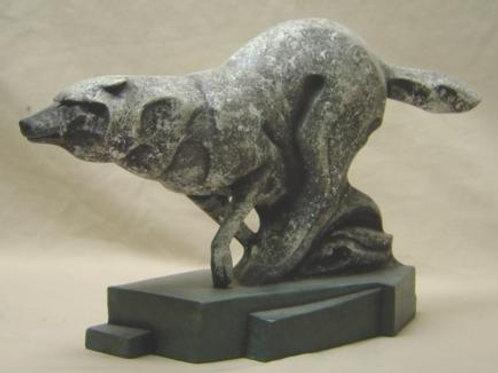 Stone Cut Wolf