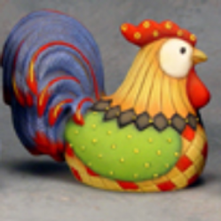 Patchwork Rooster