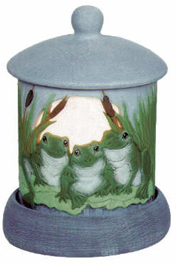 Frogs Candleholder